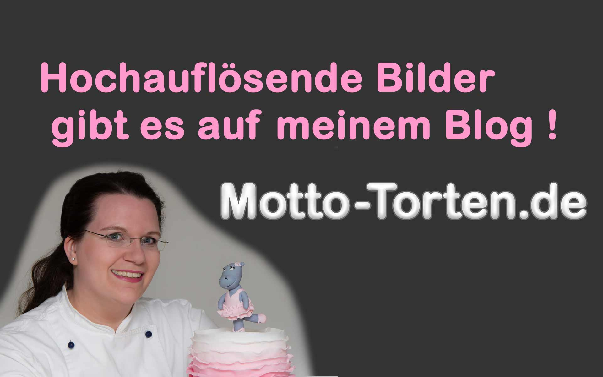rosa Mädchentorte zum Geburtstag